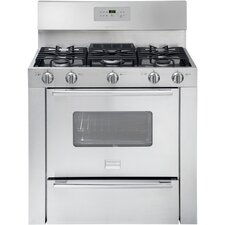 "Professional Series 36"" Gas Freestanding Range with 3.7 Cu. Ft. Self-Clean Oven"