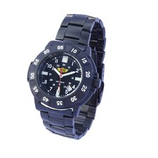 The Protector Men's Tritium H3 Round Face Link Watch