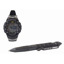 Tactical Pen and Watch Combo
