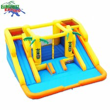 <strong>Blast Zone</strong> Rainforest Rapids Water Bounce House