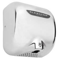XLERATOR Automatic Surface Mounted 208 Volt Hand Dryer in Chrome