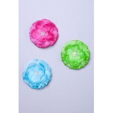 Rosette Hair Clip (Set of 3)