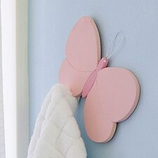 <strong>Heart to Heart</strong> Butterfly Coat Hook
