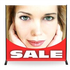 "32"" - 96"" Width Adjustable Powerframe Banner Display Stand"