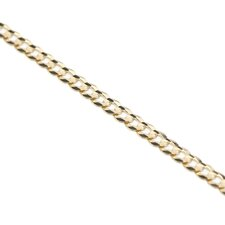 14kt Yellow Gold 3.2mm Cuban Chain