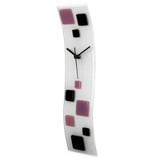 Glazed Wave Art Wall Clock