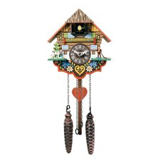 Quartz Cuckoo Clocks with Musical Multi-Colored Design
