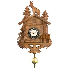Quartz Cuckoo Clocks with Chalet with Billy Goat on Roof Design