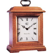 <strong>River City Clocks</strong> Small Carriage Clock in Oak