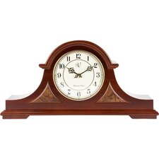 <strong>River City Clocks</strong> Traditional Chiming Mantel Clock in Cherry