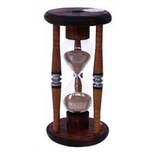 15 Minute Wood Sand Timer Hourglass