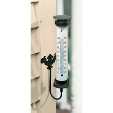 <strong>River City Clocks</strong> Indoor / Outdoor Wall Mount Thermometer