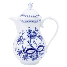 Rossella Coffee Pot in White / Blue