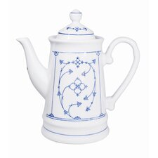 Touch! Coffee Pot in White / Blue