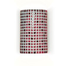 Mosaic Confetti 1 Light Wall Sconce