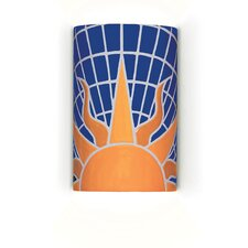 Mosaic Solar 1 Light Wall Sconce