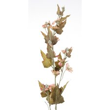 DIY Flower Artificial Antique Peach Downy Phlox Spike (Set of 12)