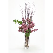 Silk Arrangement in Vase