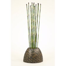 Silk Greenery Snake Grass in Vase