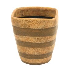 <strong>Distinctive Designs</strong> Square Top Cylinder Planter