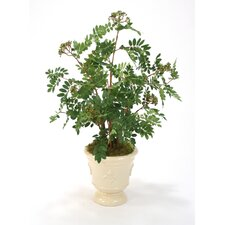 <strong>Distinctive Designs</strong> Silk Mountain Ash Floor Plant in Planter