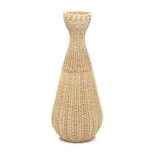 Decorative Simple Weave Abaca Vase