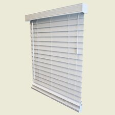 <strong>Wildon Home ®</strong> Faux Wood Horizontal Blind