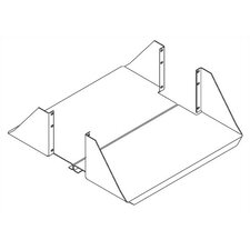 "Heavy Duty Equipment Shelf for 6"" Channel"