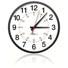 13-Inch Wireless Synchronized Clock Battery Operated