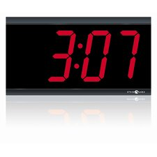 "4"" 4 Digit LED 120V Wireless Clock"