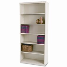 "Tennsco Metal 80"" Bookcase"