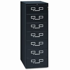 7-Drawer Card Filing Cabinet