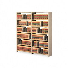 Snap-Together Open Shelving Steel 7-Shelf Closed Starter Set