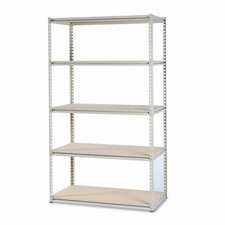 "Tennsco Stur-D-Stor 50.75"" H 4 Shelf Shelving Unit Starter"