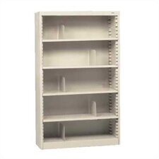 "KD 60"" H Five Deep Shelf Bookcase"