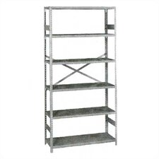 "Standard 75"" H 6 Shelf Shelving Unit Starter"