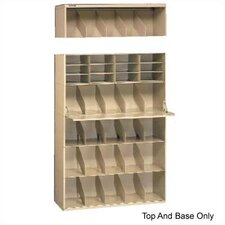 <strong>Tennsco Corp.</strong> Letter Size Stackable Filing System, Base & Top