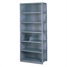 "Q Line Closed 87"" H 6 Shelf Shelving Unit Starter"