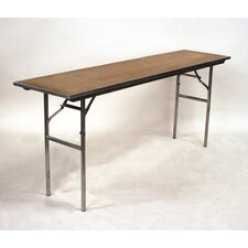 Standard Series Plywood  Rectangle Folding Banquet Table