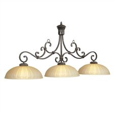 <strong>RAM Gameroom Products</strong> Barcelona 3 Light Billiards Light