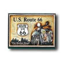 Game Room Route 66 Framed Vintage Advertisement