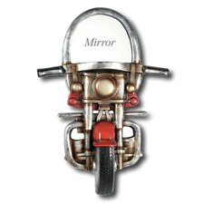 Game Room Motorcycle Mirror