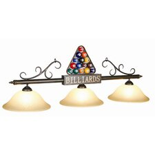 3 Light Rack Billiard Light