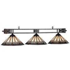 Winslow 3 Light Billiards Light