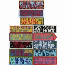 Complete Set of Outdoor Signs (Set of 13)