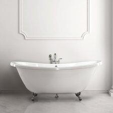 """Andrea 7238 SS 72"""" x 24"""" Bathtub"""