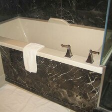 "Designer Kayla 74"" x 42"" Air Tub with Thermal System"