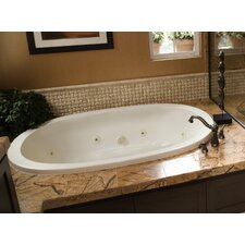 "Designer Galaxie 66"" x 38"" Whirlpool Tub with Combo System"