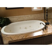 "Designer Galaxie 66"" x 42"" Whirlpool Tub with Combo System"