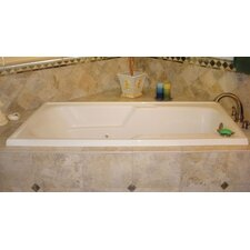 """Designer Isabella 60"""" x 36"""" Whirlpool Tub with Combo System"""